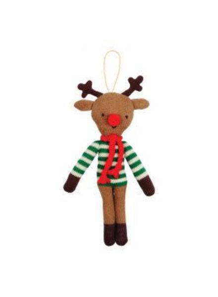 Merimeri Stripy reindeer ornament