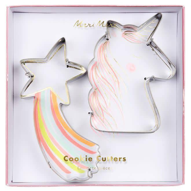 Merimeri Unicorn cookie cutters