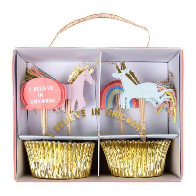 Merimeri Unicorn cupcake kit