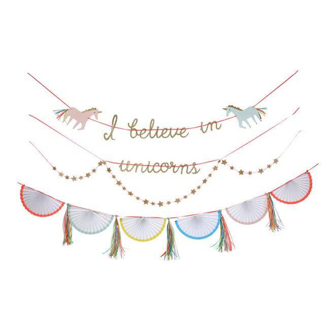 Merimeri Unicorn garland