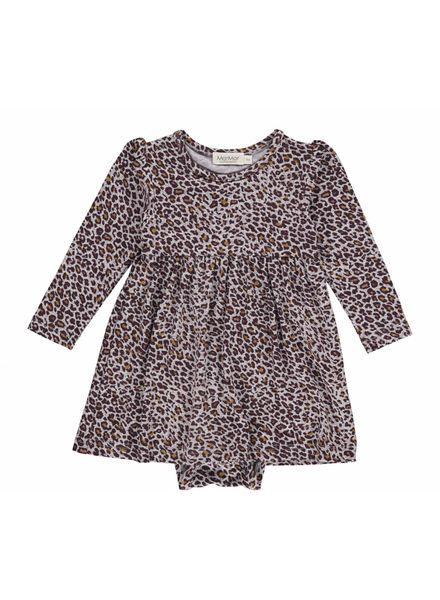 MarMAr CPH Marmar Dress Leopard dark plum