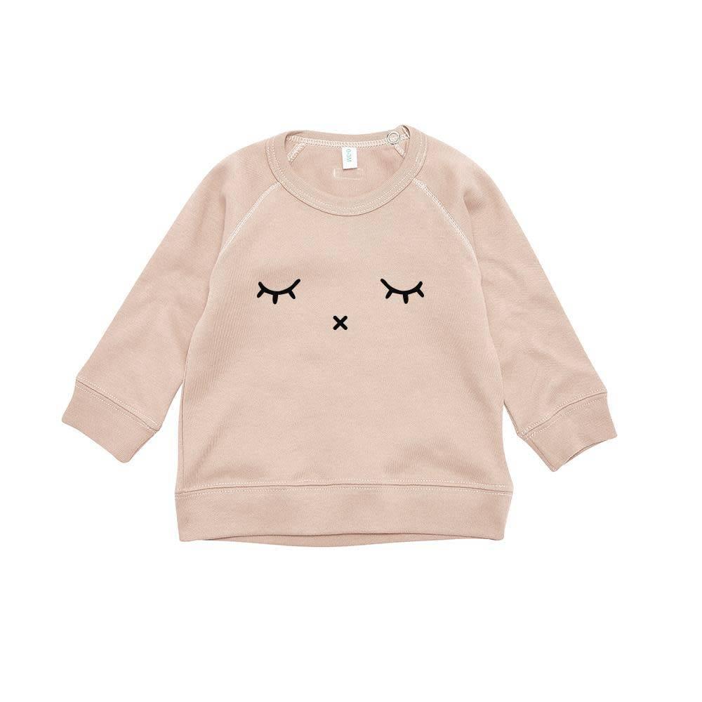 Organic Zoo Clay sweatshirt SLEEPY