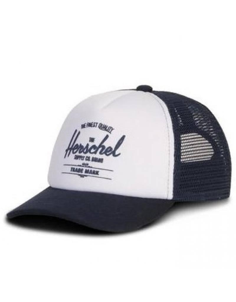 Herschel Sprout Whaler mesh baby/peuter white/navy