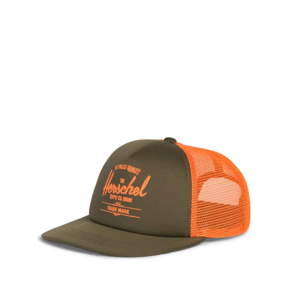 Herschel Pet Whaler forest/orange kind