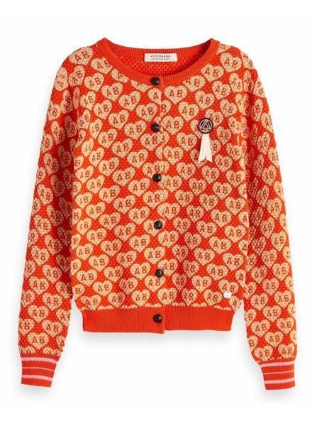 Scotch & Soda Knitted cardigan 147691