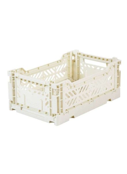eef lillemor Folding Crate Mini Coconut milk