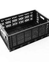 eef lillemor Folding Crate Maxi black