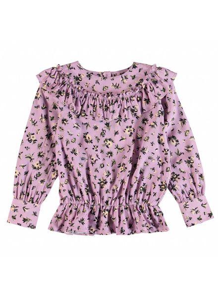 Molo Raina blouse flower bouquet