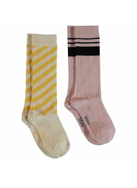 Molo Norvina socks sunrise