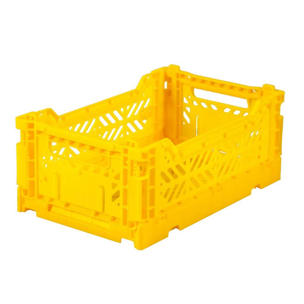 Aykasa Folding Crate Mini yellow