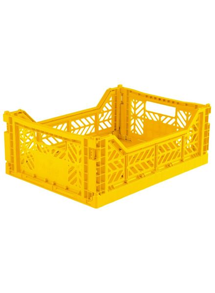 Aykasa Folding Crate Midi yellow