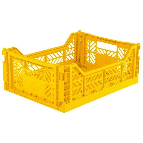 Aykasa Folding Crate Midi yellow