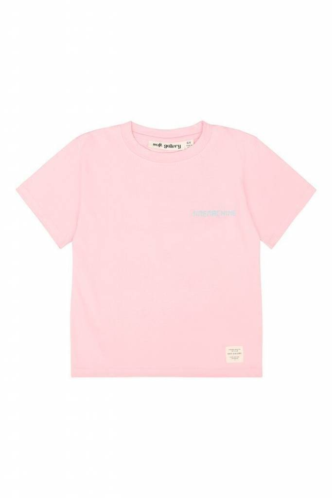 Soft Gallery Asger T-shirt parfait pink