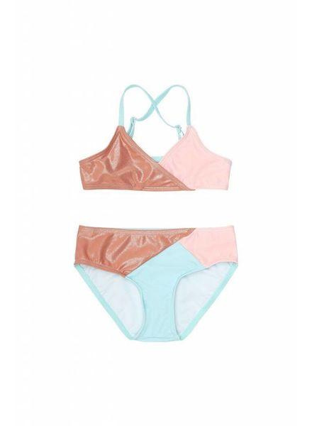 Soft Gallery Deidre Bikini Block Swim Girl,