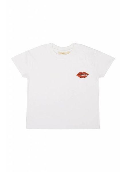 Soft Gallery Tshirt white leolips