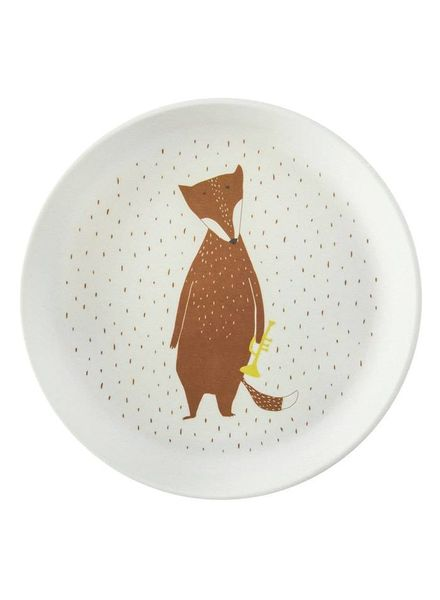 Trixie Plate mr. fox