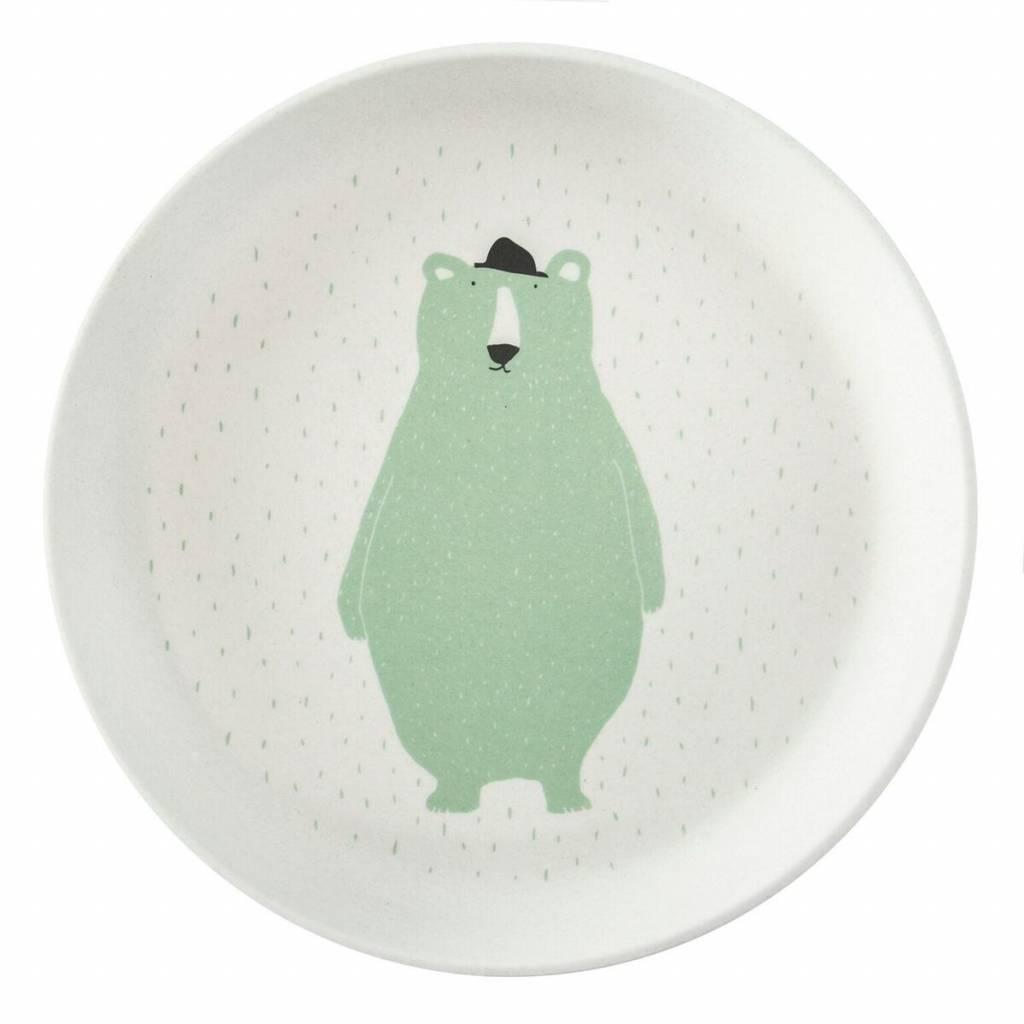 Trixie Plate Mr. Polar Bear