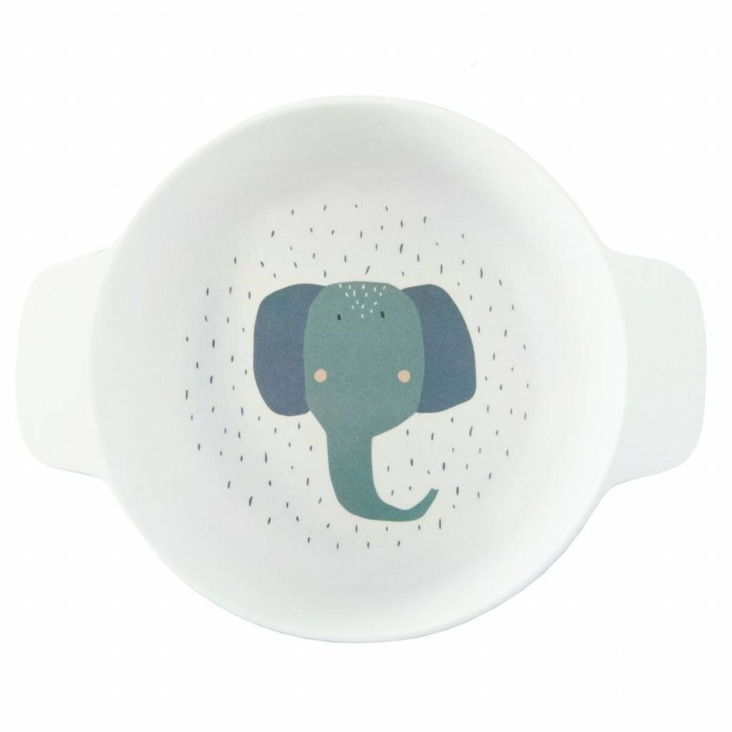 Trixie Bowl with handles Mrs. Elephant
