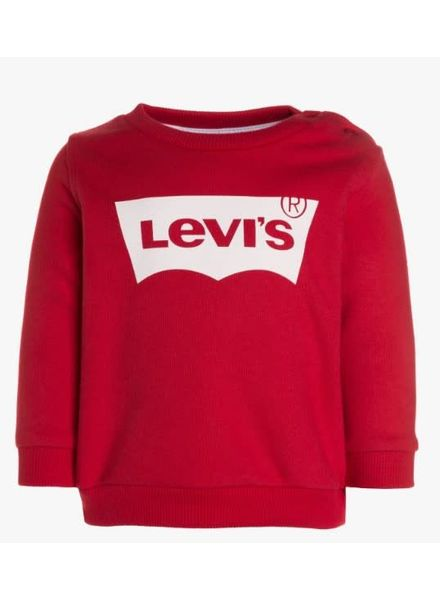 Levi's Sweater logo rood