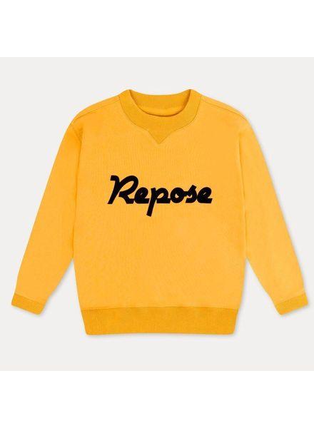repose Classic sweater rare yellow gold