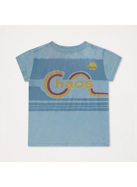 repose Tshirt wheathered dreamy blue