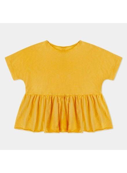 repose Ruffle tee rare yellow golden