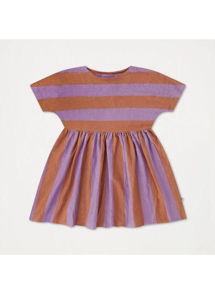 repose Ruffle dress warm earthy lilac