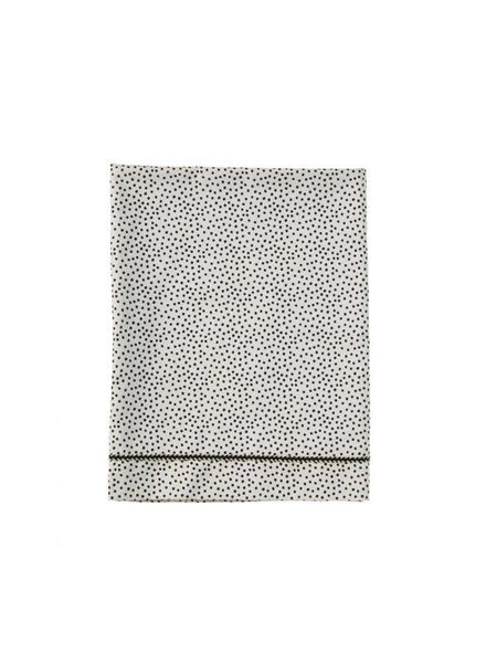 Mies & co Baby crib sheet Cozy Dots offwhite (80x100cm) // wieg