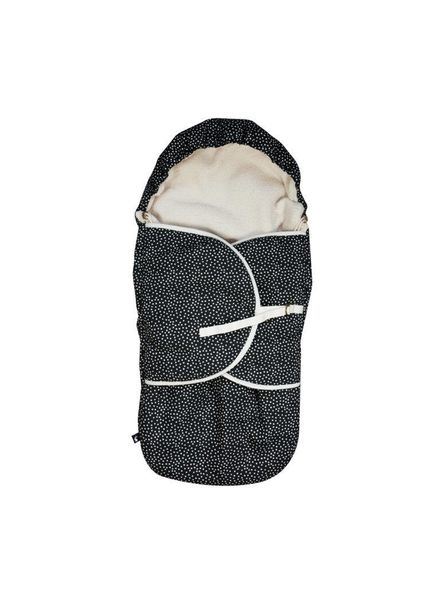 Mies & co Footmuff Cozy Dots black