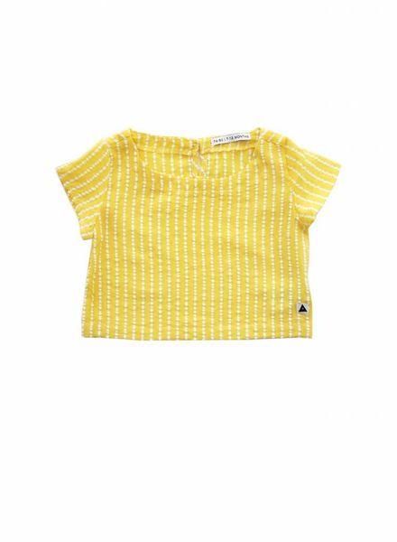 ammehoela Woven top yellow