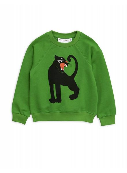 Mini rodini Panther sp sweatshirt green