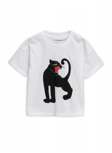 Mini rodini Panther sp tee  white