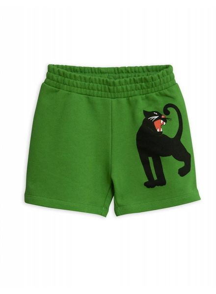 Mini rodini Panther sp sweatshorts green