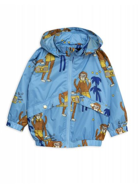 Mini rodini Cool monkey sporty jacket lightblue