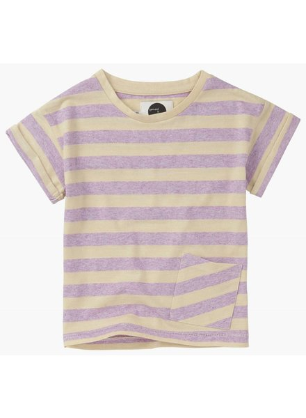 Sproet&Sprout T-shirt 'Stripe Violet'
