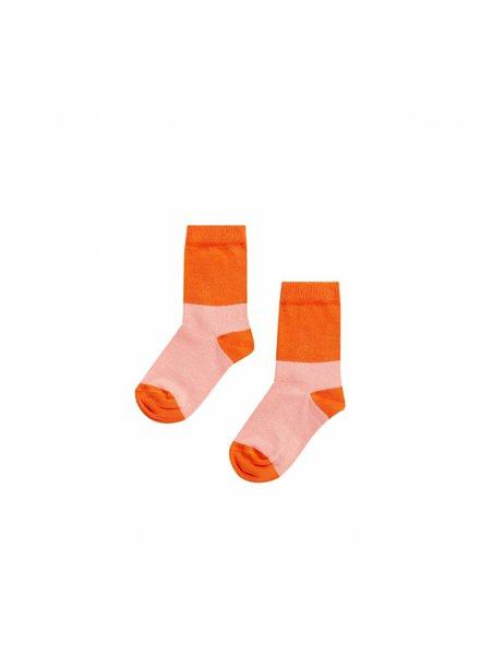 mingo Knee socks Peach pink/ Koi
