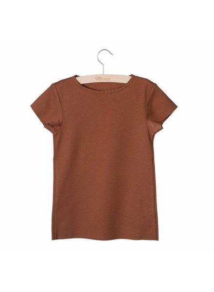 Little Hedonist Summer Shirt Isabel Mocha