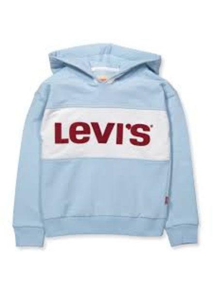 Levi's Lichtblauwe hoodie nn15537