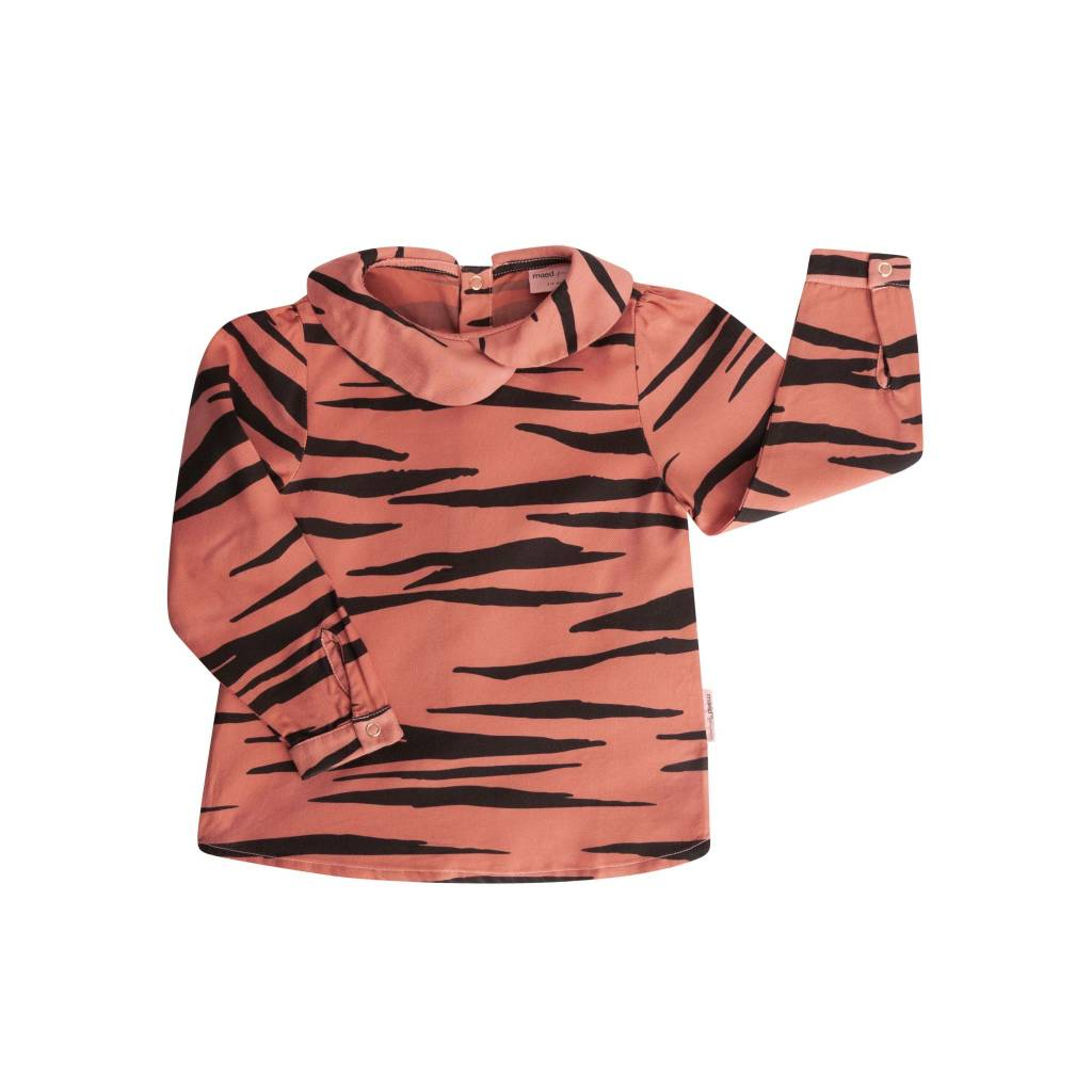 Maed for mini Pink Tiger Blouse