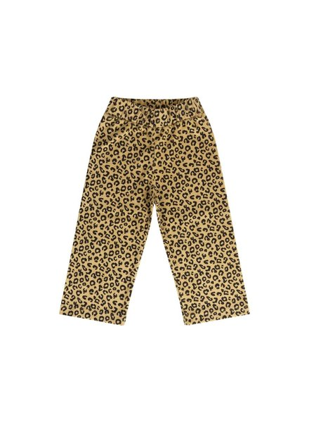 Maed for mini Yellow Leopard Pants