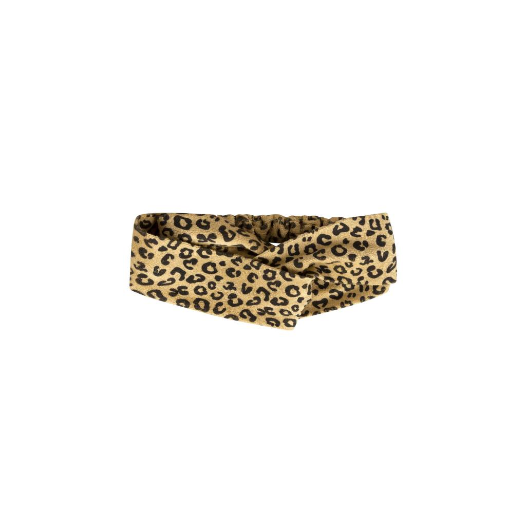 Maed for mini Yellow Leopard Hair Band