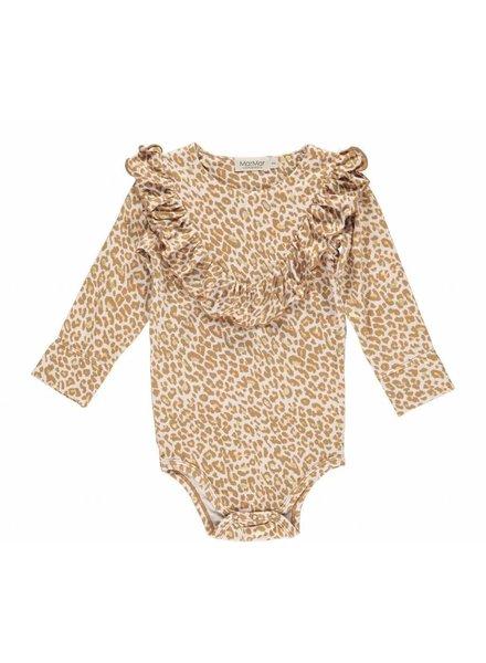 MarMAr CPH Gold leopard romper billie