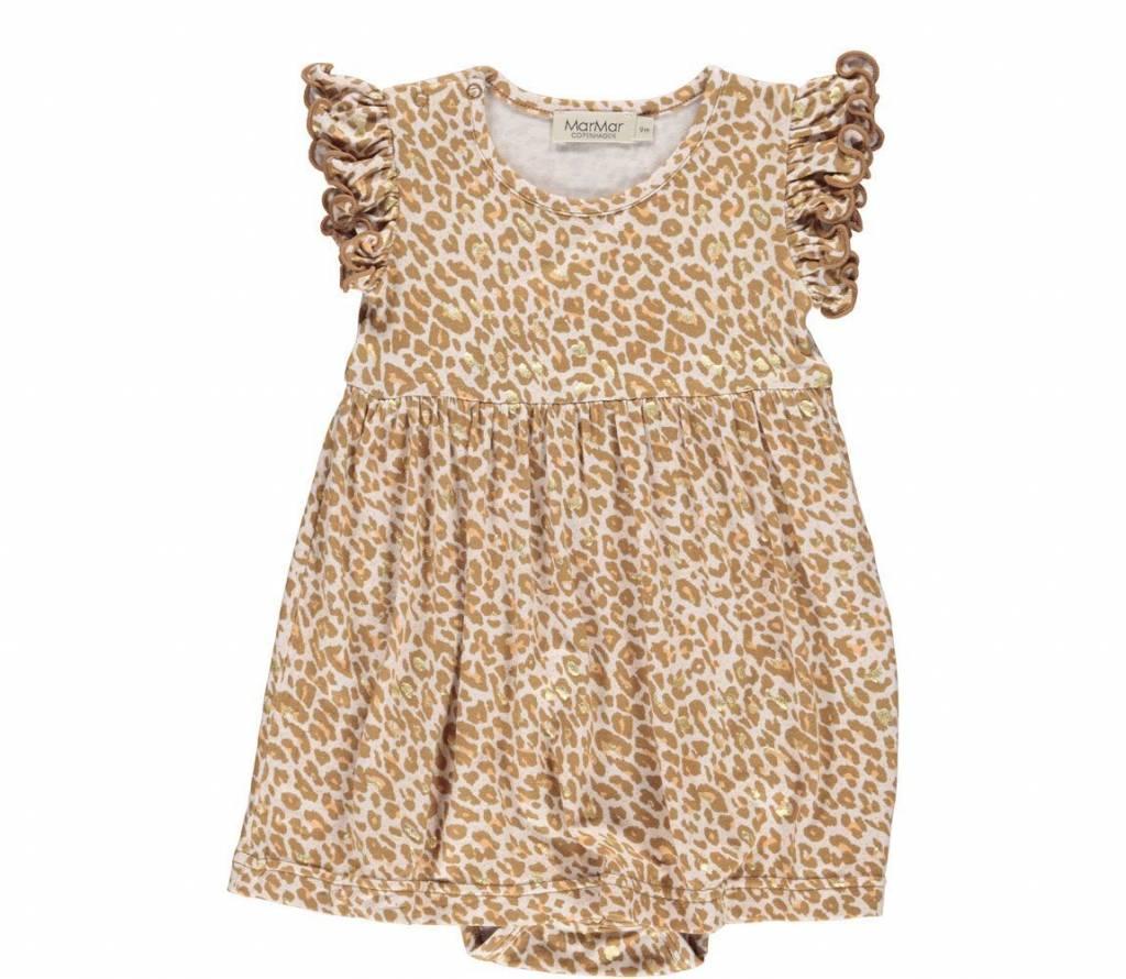 MarMAr CPH Gold leopard dress ramona
