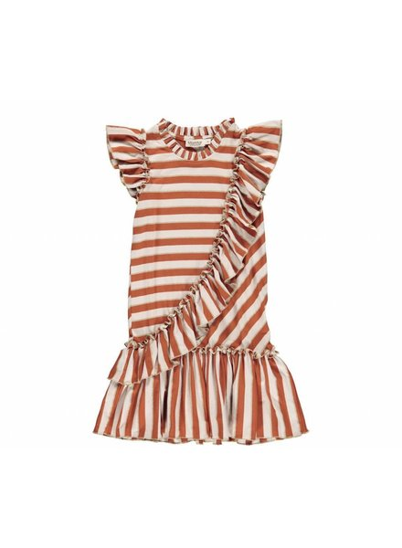 MarMAr CPH Dayla buent red stripe dress