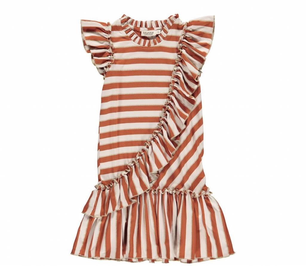 MarMAr CPH Dayla buent red stripe dress