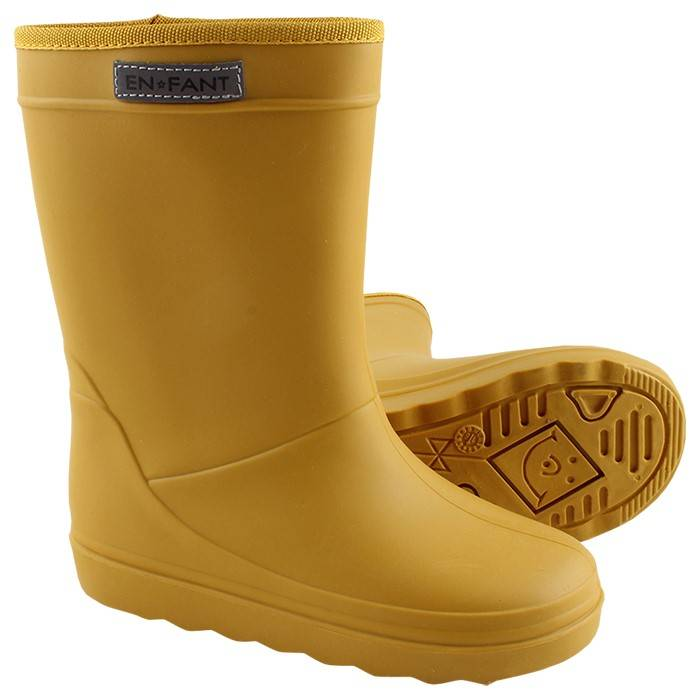 Enfant Triton Rain Boot Yellow