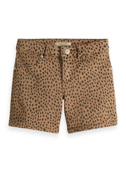 Scotch & Soda Skinny fit short all over printed