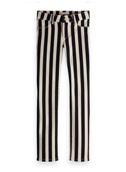 Scotch & Soda Skinny fit striped pants