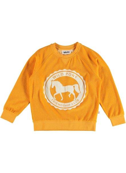 Molo Mari orange bloom sweater
