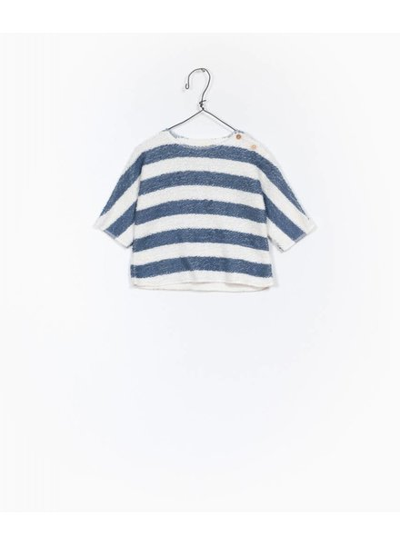 Play Up Striped fleace sweater 11203